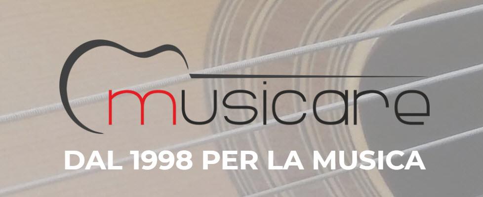 Il 2018 segna i venti anni di attività per Musicare. Un nuovo logo a conferma di rinnovato entusiasmo.