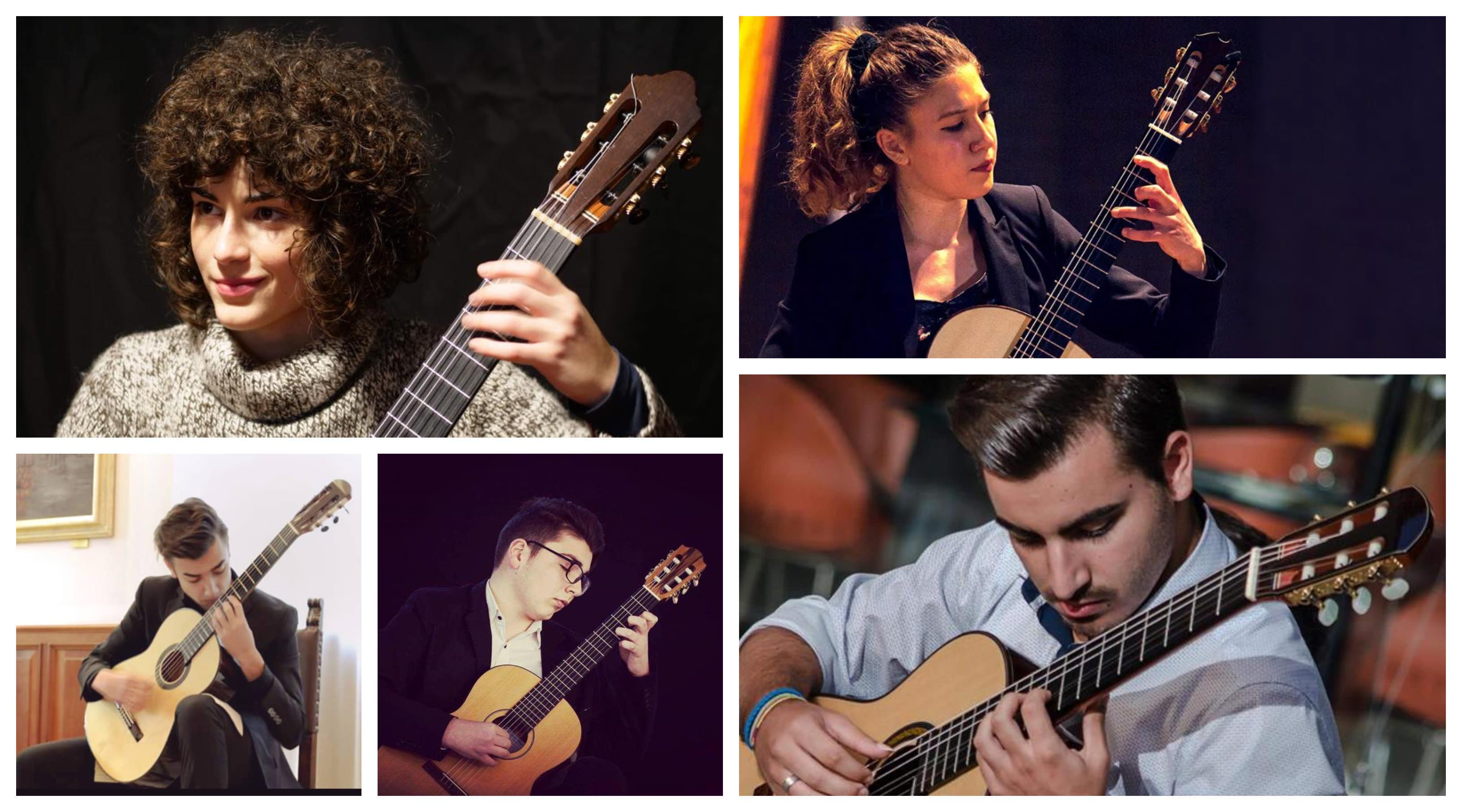 I giovani ed eccellenti musicisti selezionati da Musicare per la nuova edizione della Rassegna di Concerti di Giovani Musicisti.