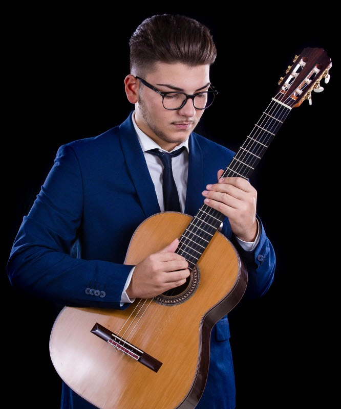 Giovanni Masi, il giovanissimo talento ospite di Musicare per la Rassegna di Concerti di Giovani Musicisti.