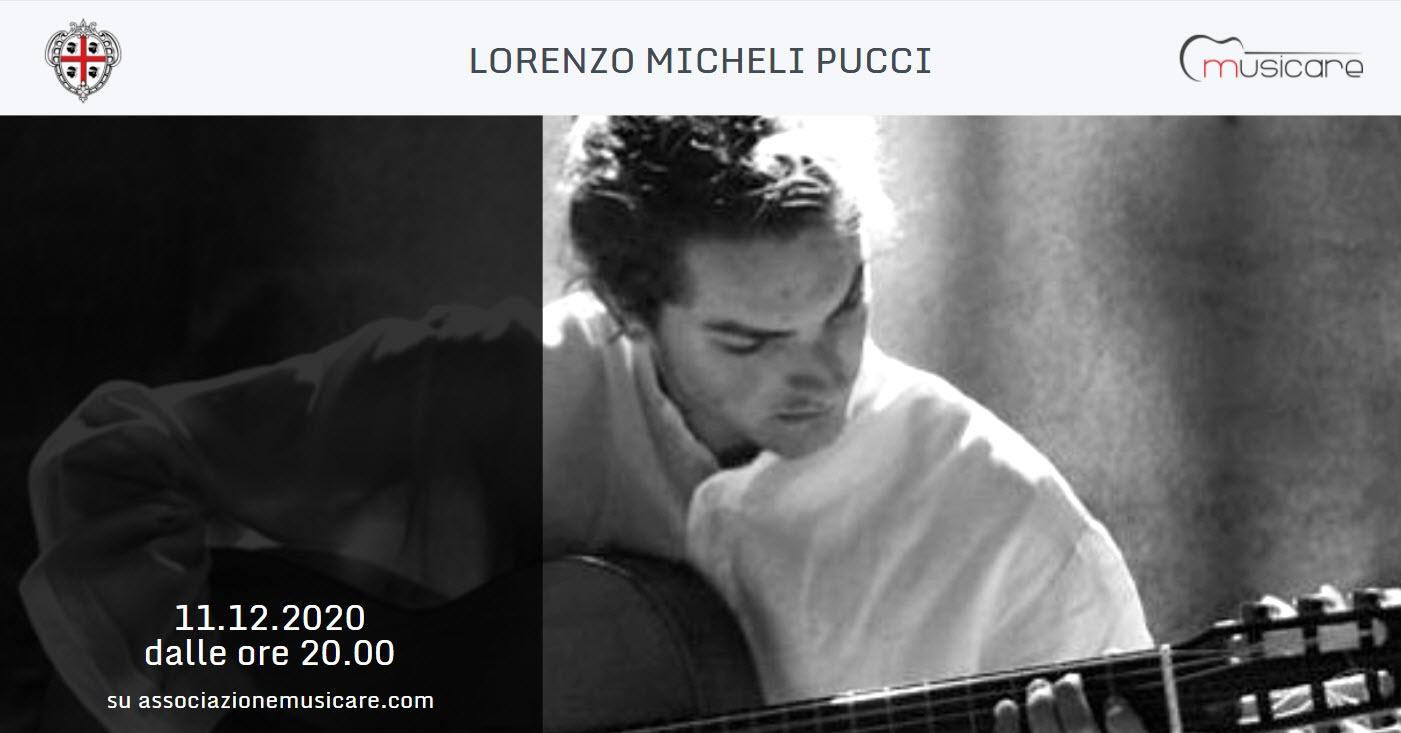 LORENZO MICHELI PUCCI MUSICARE 2020